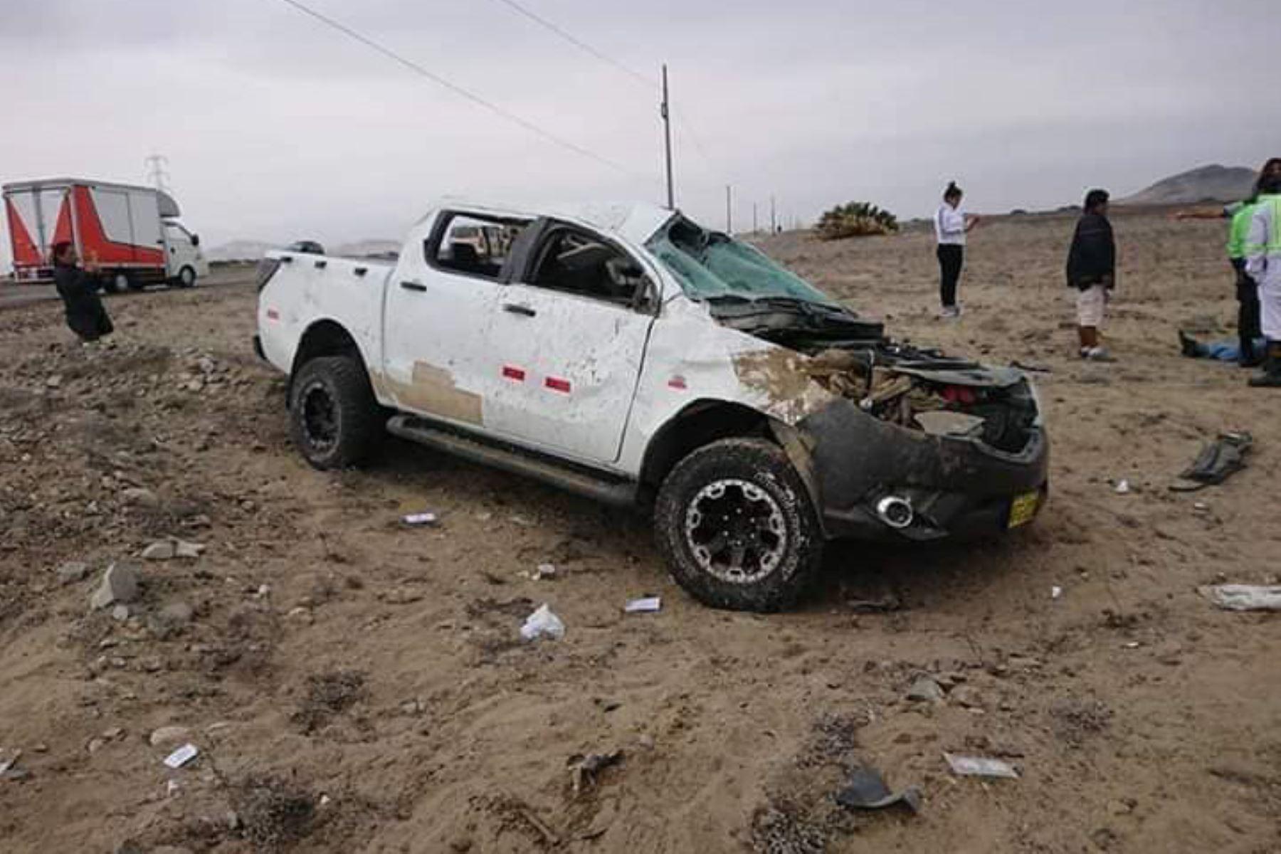 Alcalde provincial de Chepén, David Lías Chepén, muere en accidente de tránsito en La Libertad. Foto: Noticía al día/Facebook
