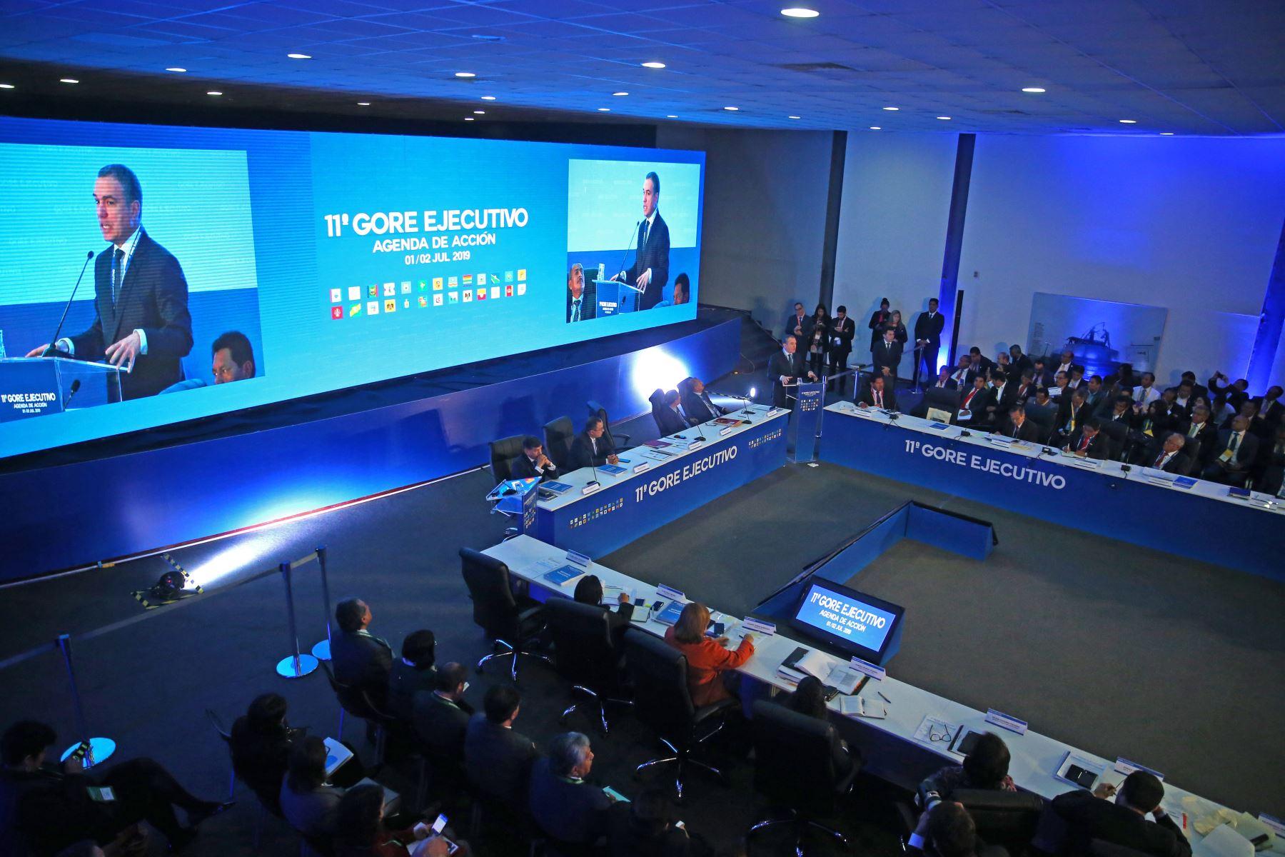 El presidente del Consejo de Ministros, Salvador del Solar,  inaugura el 11º Gore Ejecutivo en la Fortaleza Real Felipe del Callao. Foto: ANDINA/Vidal Tarqui