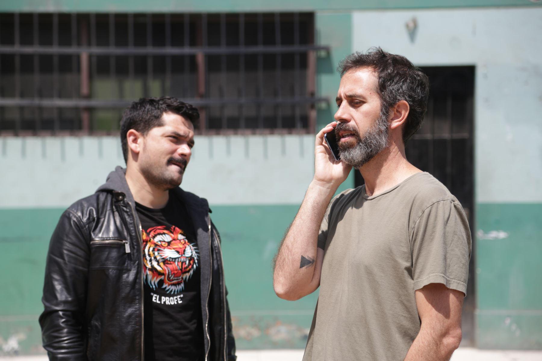 """Escena de """"Yuraq, la película""""."""