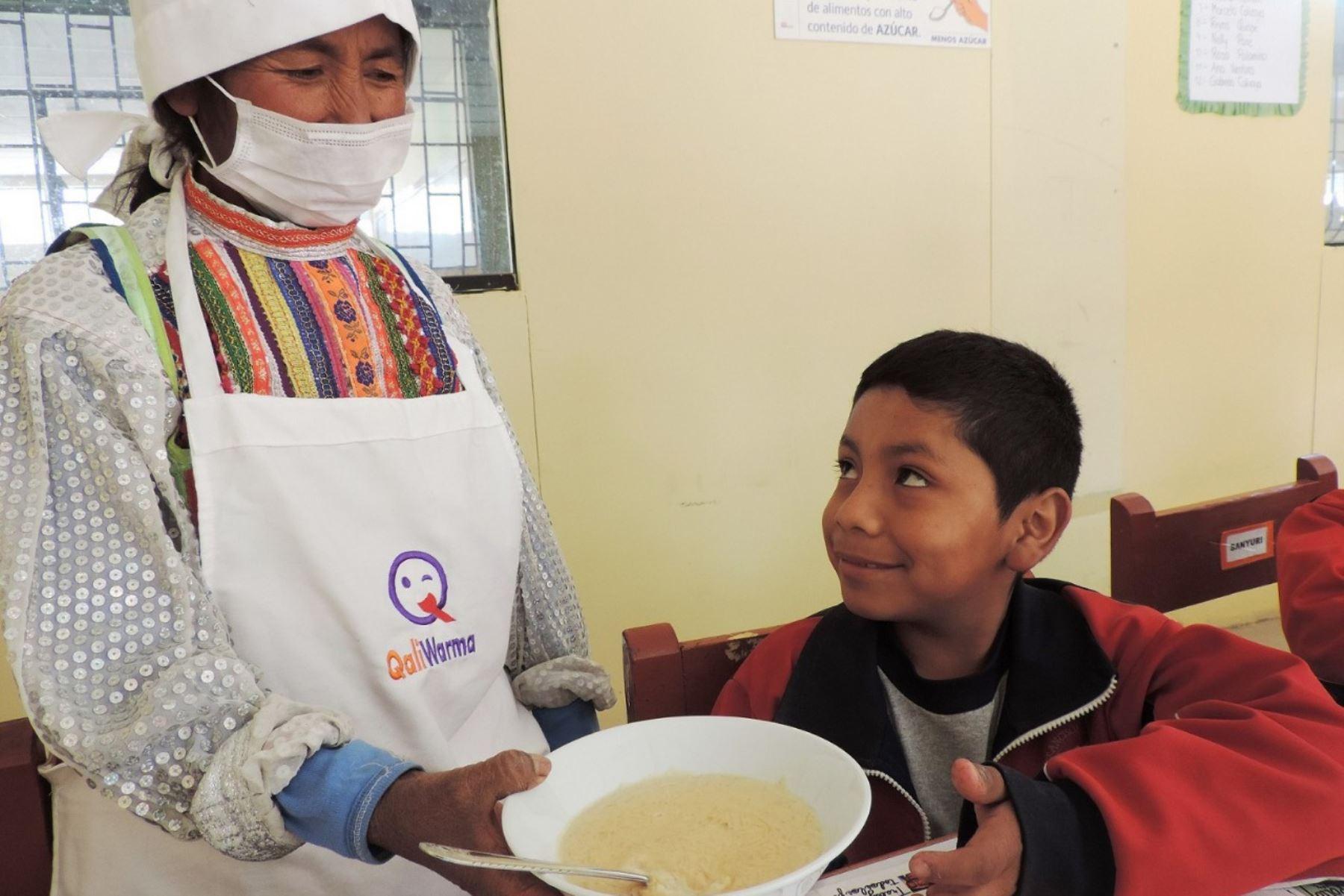 ANDINA/DifusiónFruto típico de Moquegua complementa desayunos nutritivos de Qali Warma. ANDINA/Difusión