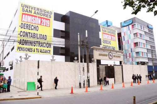 Universidad San Andrés. Foto: ANDINA/Difusión.