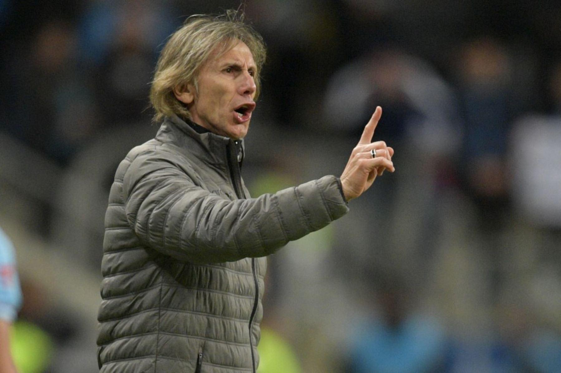 Gareca confía en que la selección peruana llega a la final para ganarla.