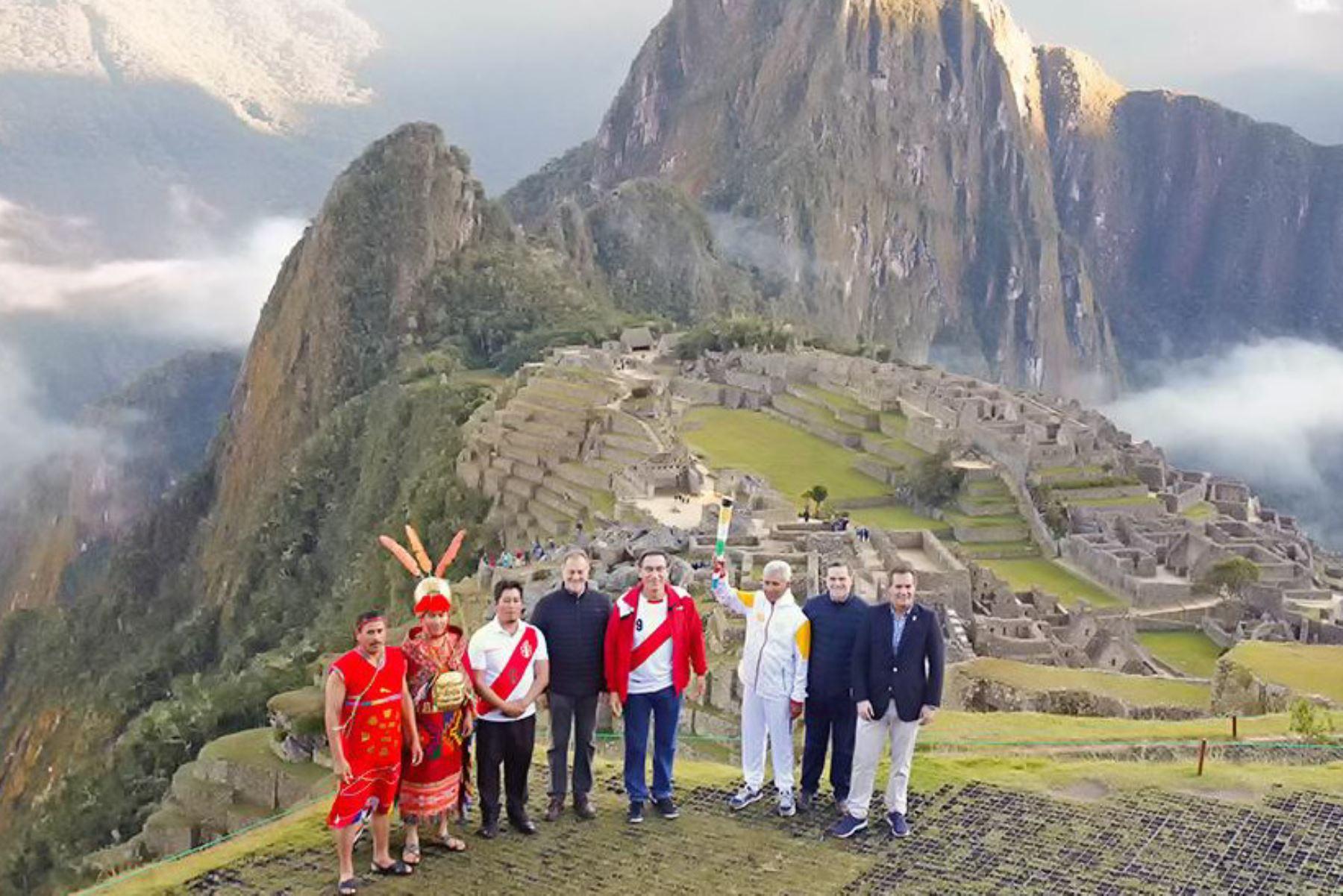 Conoce las regiones que visitará la Antorcha Panamericana tras el inicio de su recorrido en Machu Picchu antes de inaugurar Lima 2019.