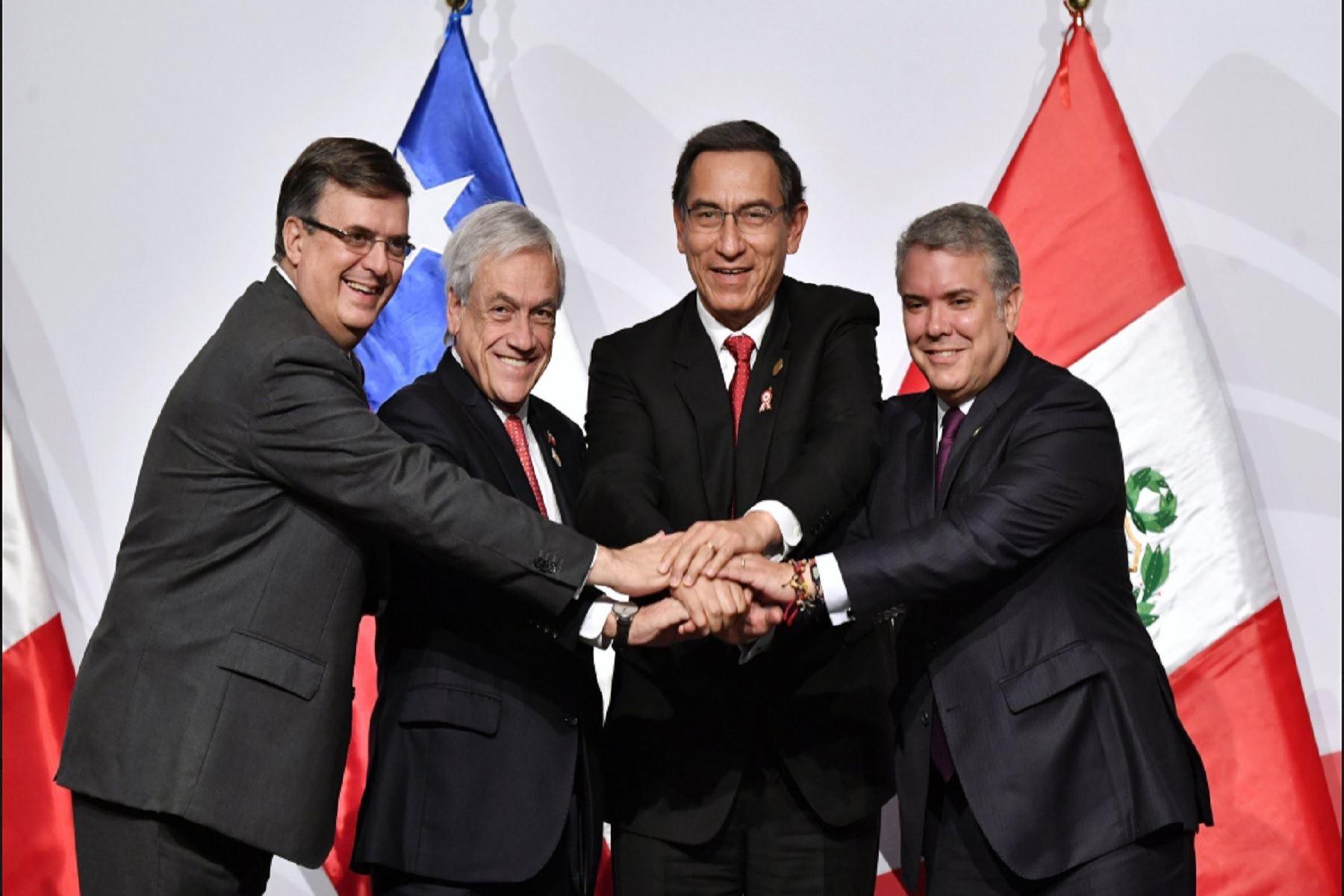 Presidentes de la Alianza del Pacífico suscriben Declaración de Lima