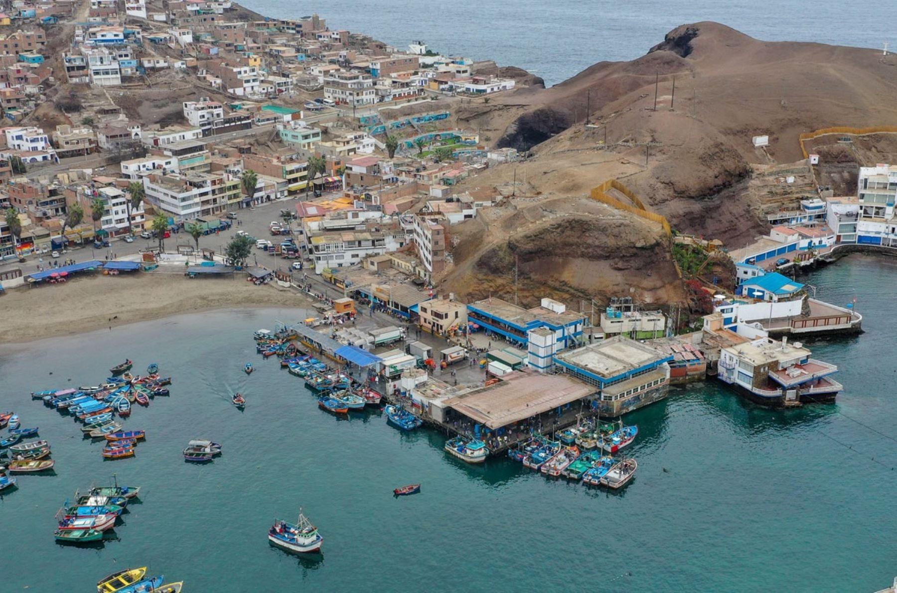 Muelle de pesca artesanal de Pucusana. Foto: Cortesía.