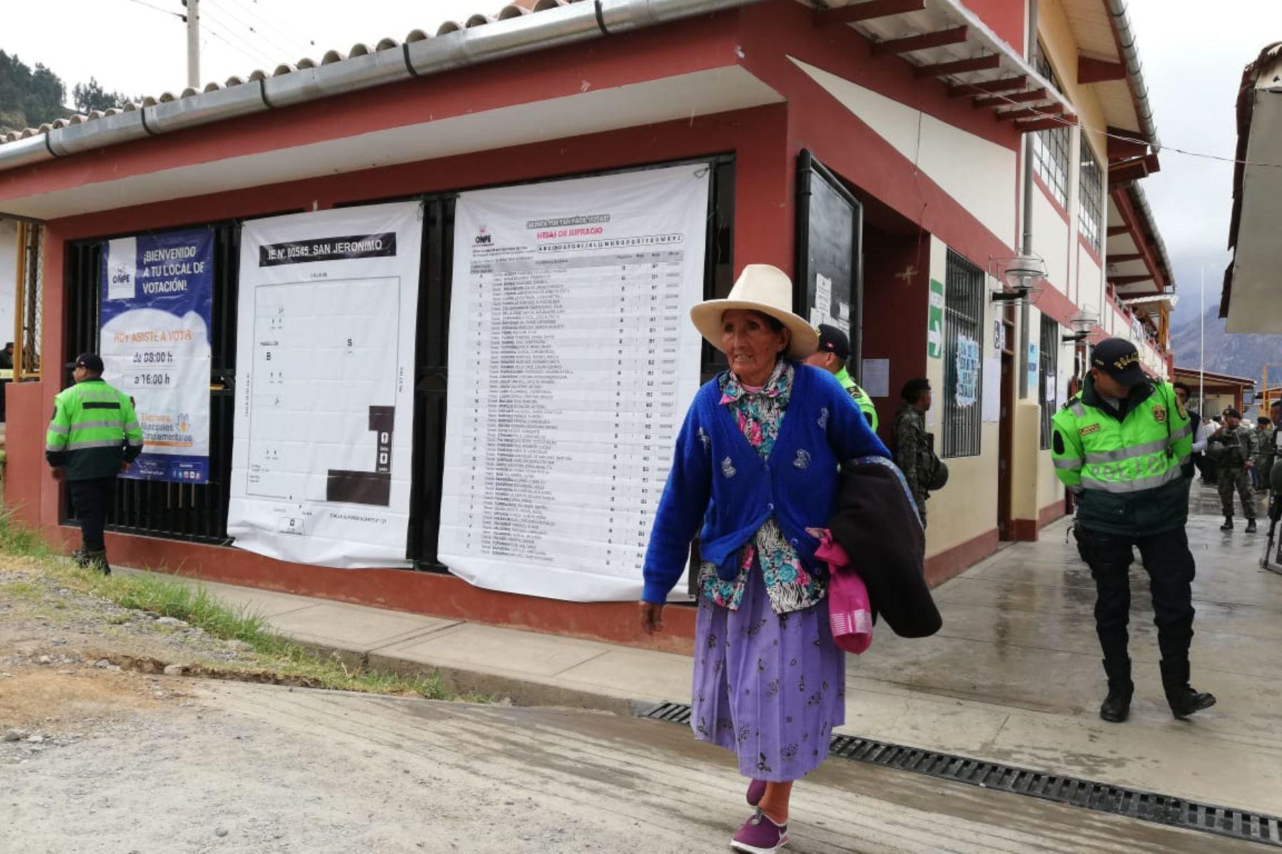Distritos de Guadalupito y Mollepata, en La Libertad, ya cuentan con nuevos alcaldes elegidos durante comicios municipales complementarios.