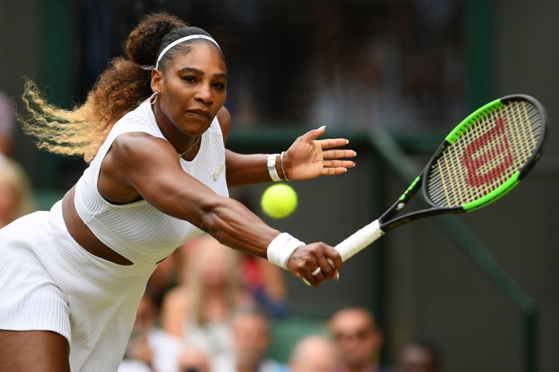 Serena Williams fue mulktada con 10 mil dólares en pleno torneo de Wimbledon