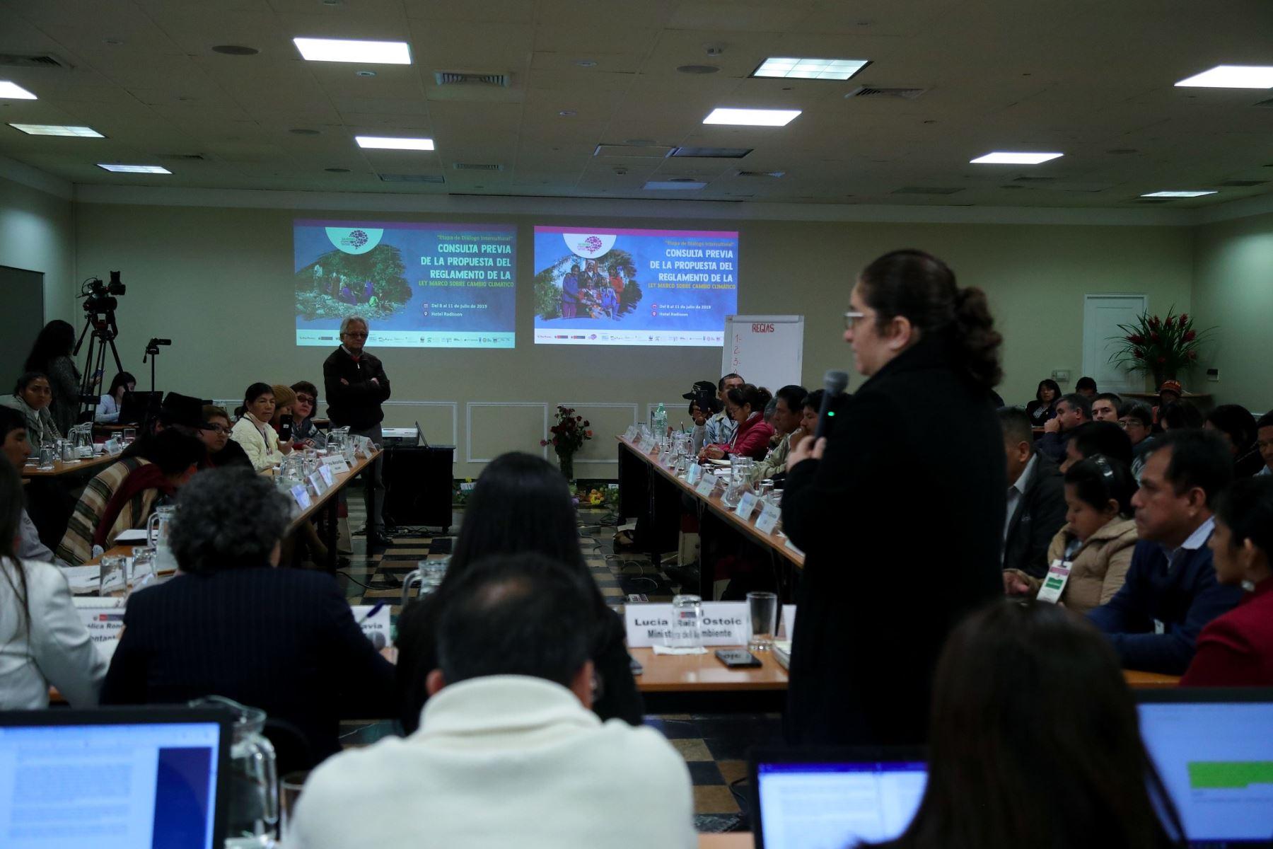 Ministerio del Ambiente resalta que el diálogo transparente es la clave en la consulta previa.