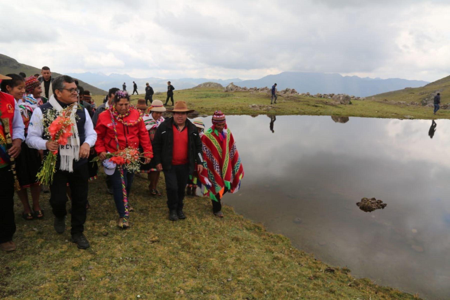 Ministerio de Agricultura y Riego construirá 160 qochas que aportarán agua a la agricultura familiar de las regiones Áncash, Apurímac, Ayacucho, Cusco y Huancavelica. ANDINA/Difusión