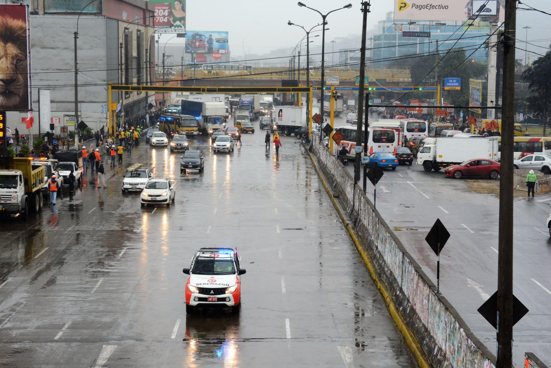 Se habilita tramo de la Carretera Central luego de culminar obras del Metro de Lima y Callao. Foto: Metro de Lima y Callao
