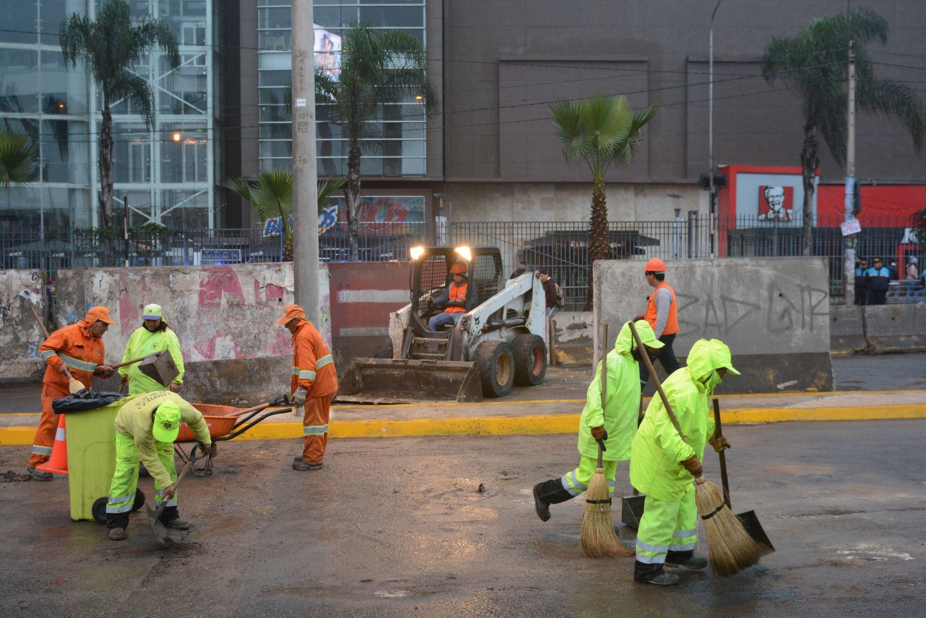Se habilita tramo de la Carretera Central luego de culminar obras en Pozo de Ventilación de la Línea 2 del Metro de Lima y Callao. Foto: Metro de Lima y Callao