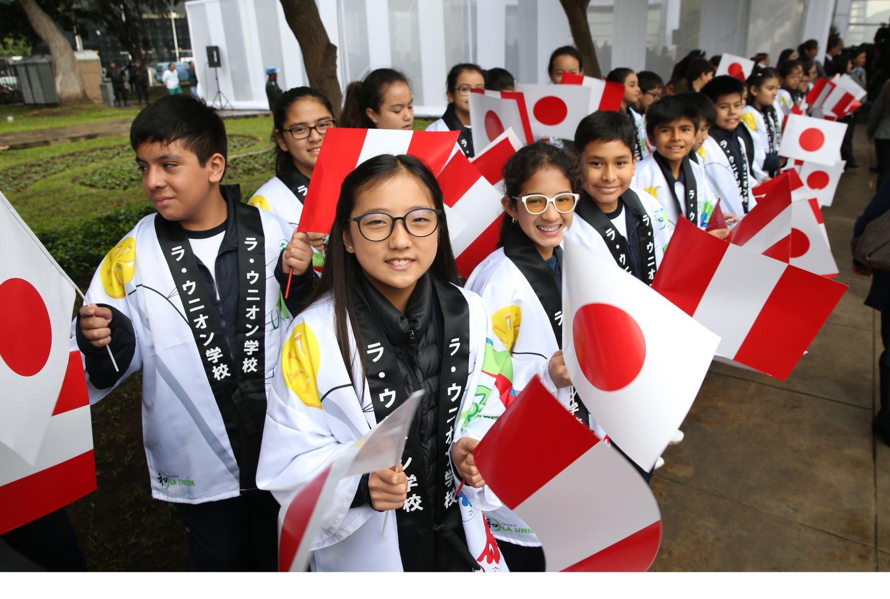 La Princesa Mako, participa de la conmemoración de los 120 Años de la Inmigración Japonesa al Perú .Foto: ANDINA/Norman Córdova