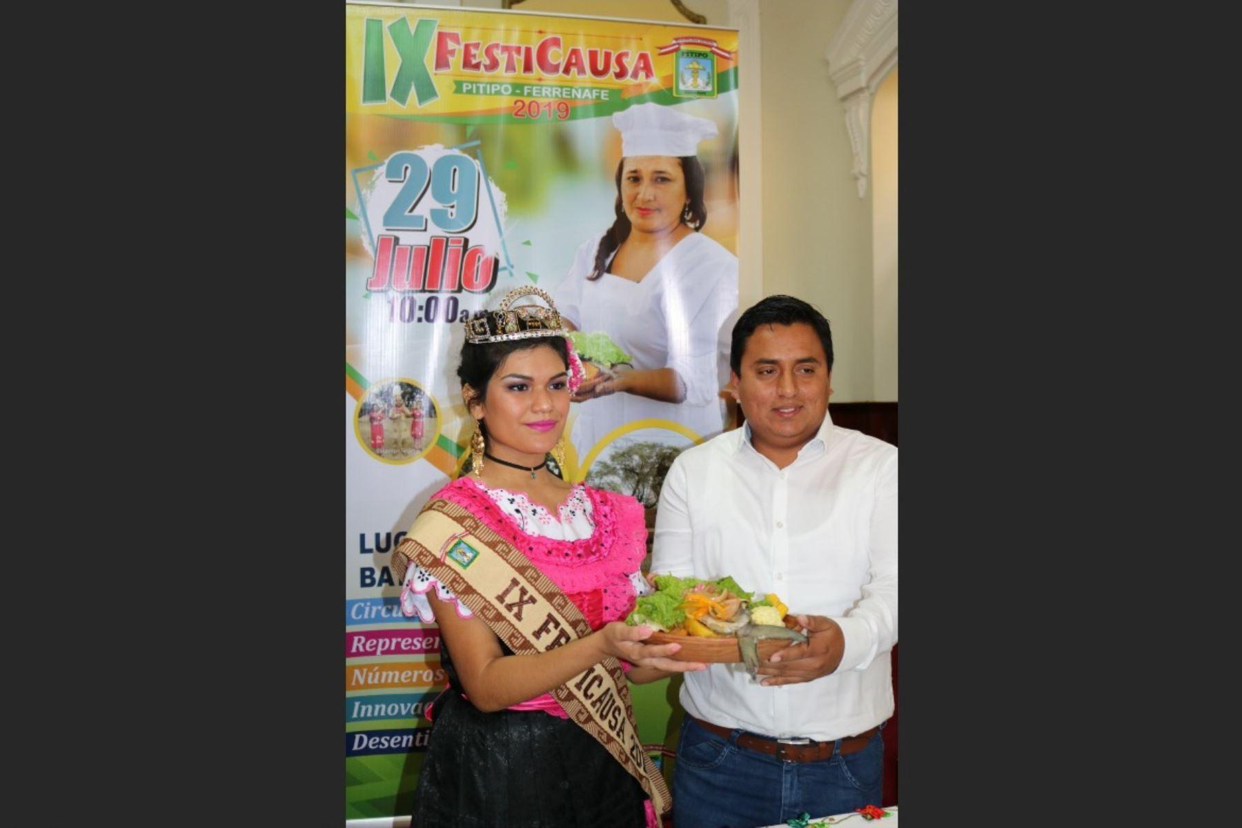 Ultiman detalles para la feria Festicausa que se realizará en Fiestas Patrias en distrito de Pítipo, en Lambayeque. ANDINA/Difusión