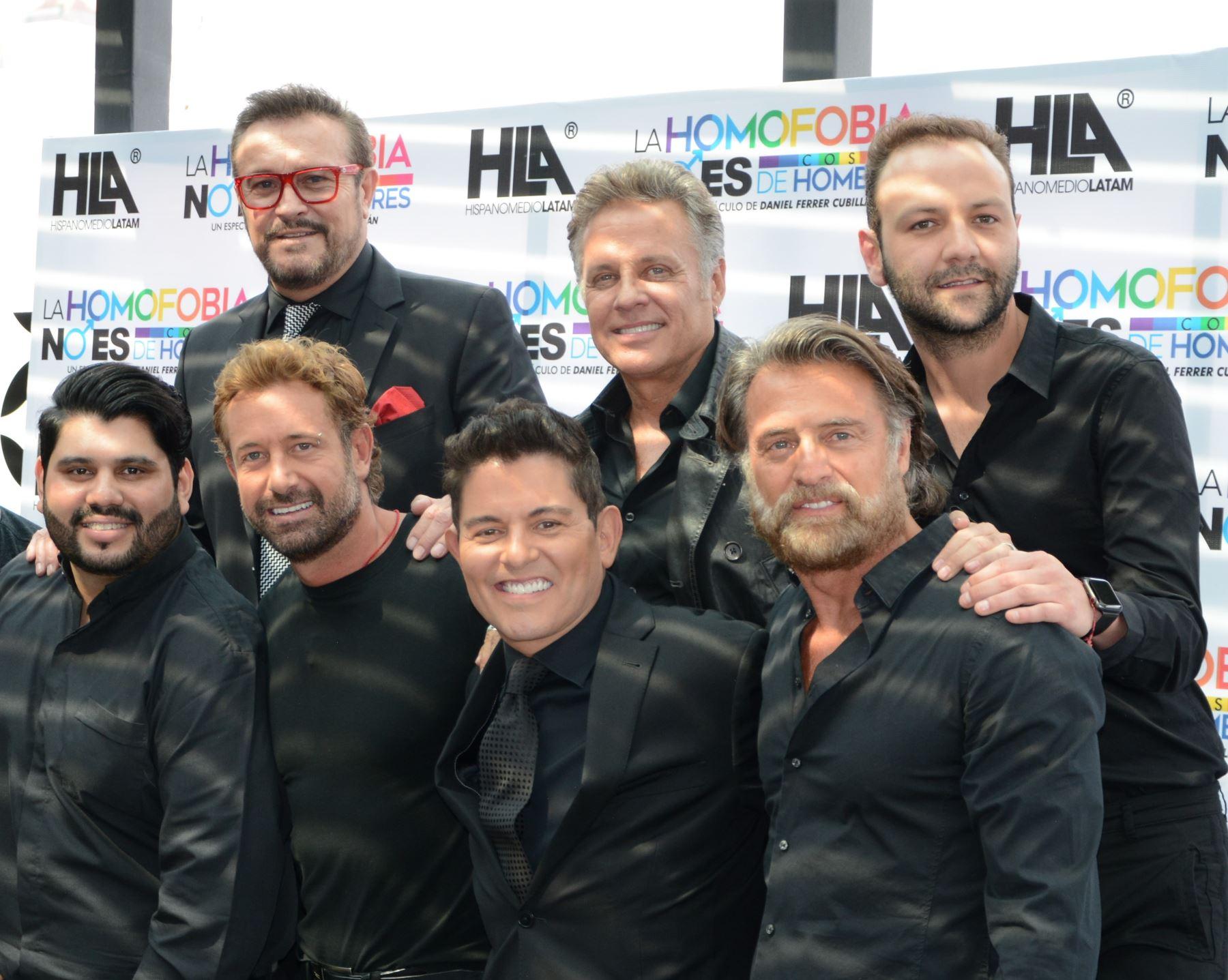 Actores de Televisa de visita en Lima para puesta teatral.