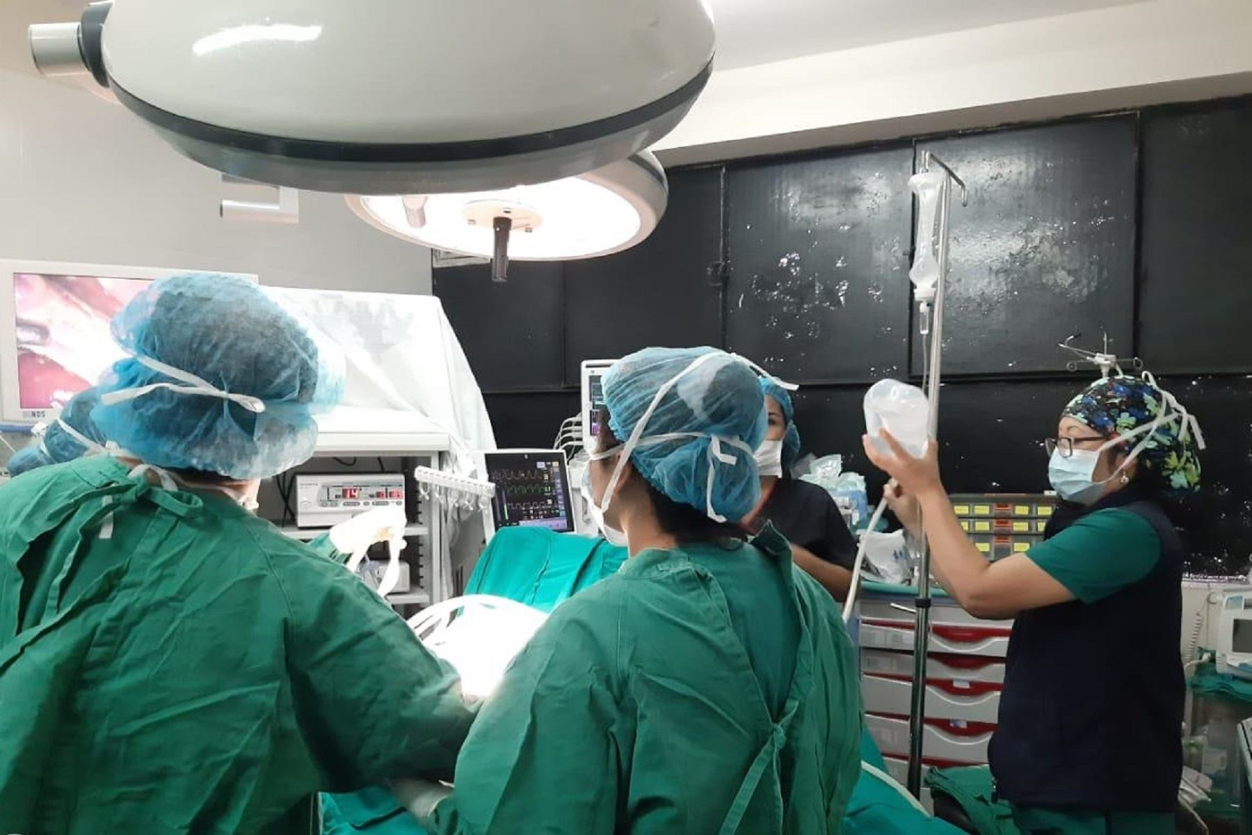 EsSalud Sabogal realizó 112 cirugías de vesícula, hernia y catarata en solo tres días Foto: Difusión