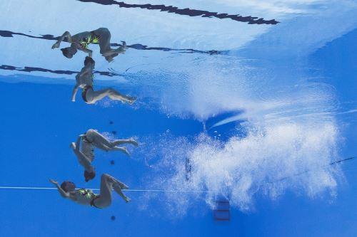 Campeonato del mundo de natación en Corea del Sur