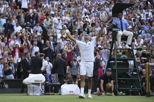 Roger Federer jugará la final de Wimbledon, luego de derrotar a Rafael Nadal