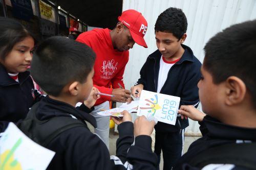"""Deportistas panamericanos participan en la clausura de campaña """"Yo soy Lima 2019"""""""