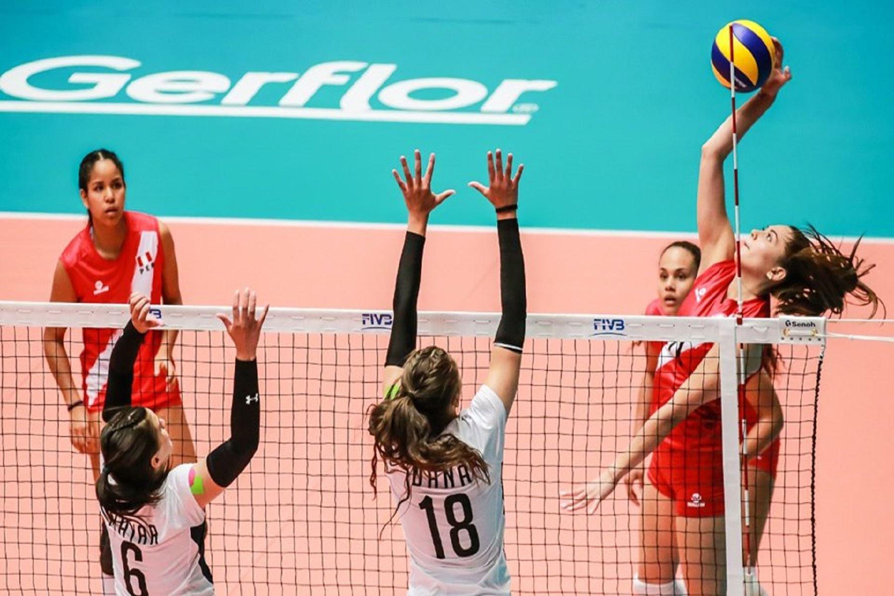 Perú le ganó a Egipto Foto: FPV