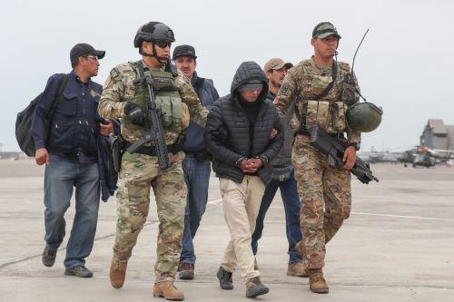 "Policía Nacional presenta a terrorista  "" Julio Chapo"" miembro de Sendero Luminoso"