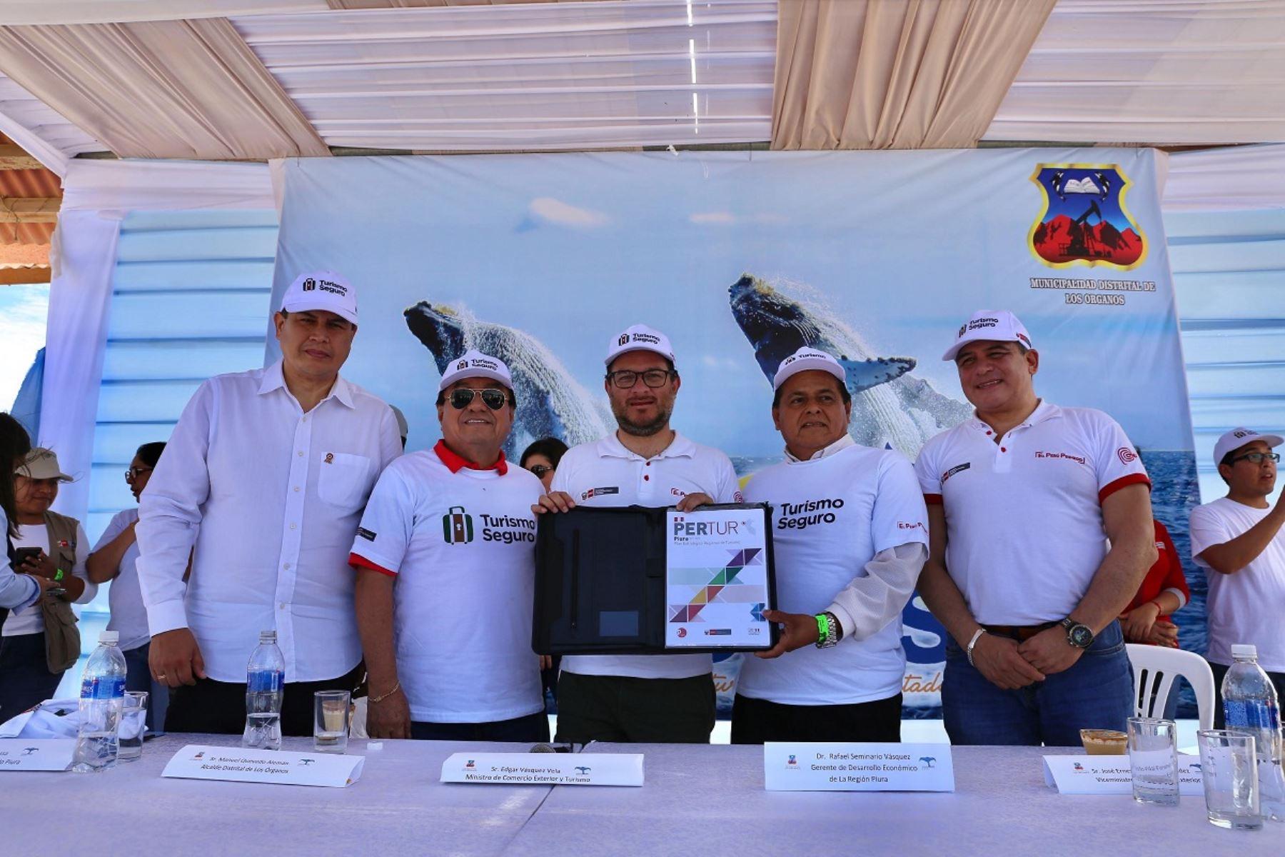 Presentación del plan de turismo para Piura. Foto: Cortesía.
