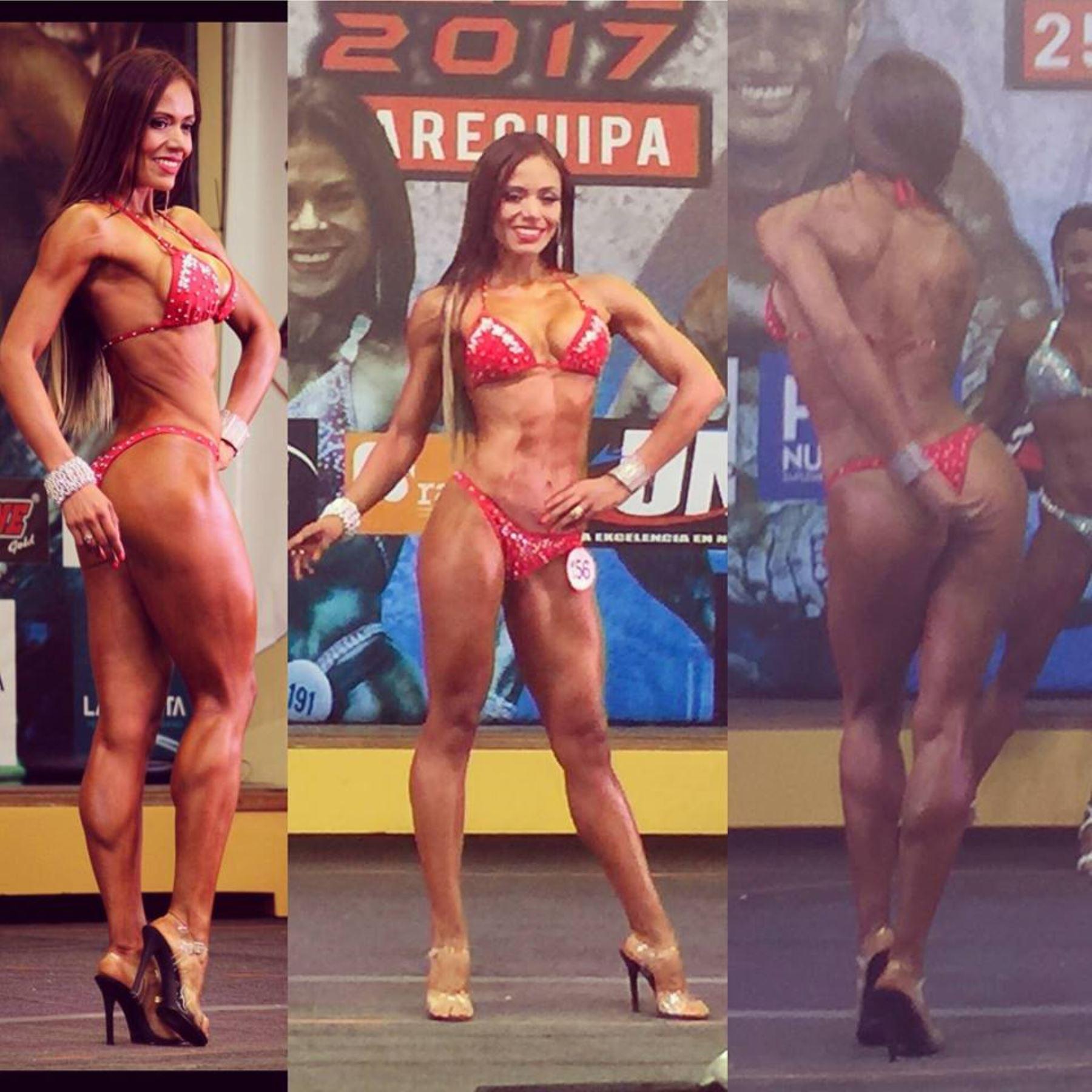 Jeimy es la carta peruana en fitness en Lima 2019