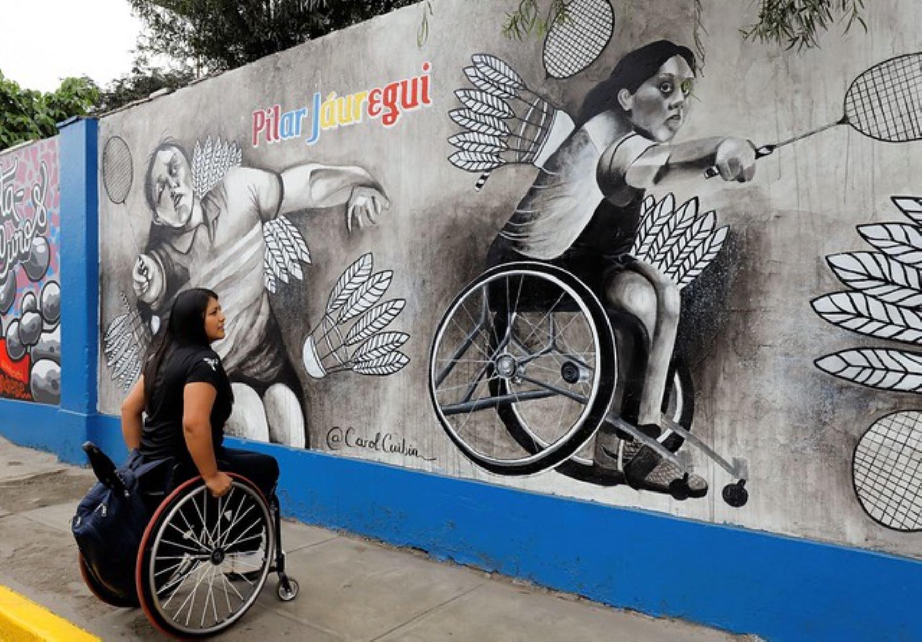 La paradeportista Pilar Jaúregui nos va a representar en los Panamericanos Lima 2019 . ANDINA/Difusión