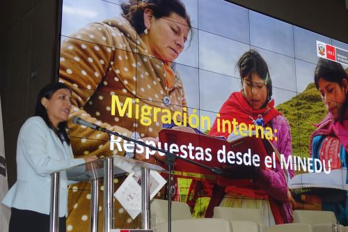 Presentación del informe mundial sobre educación. Foto: Andina/Difusión