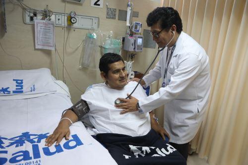 Operación al corazón Foto: Essalud