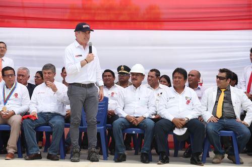 Primer ministro, Del Solar visita Tumbes para  inaugurar obras y verificar avances en la reconstrucción