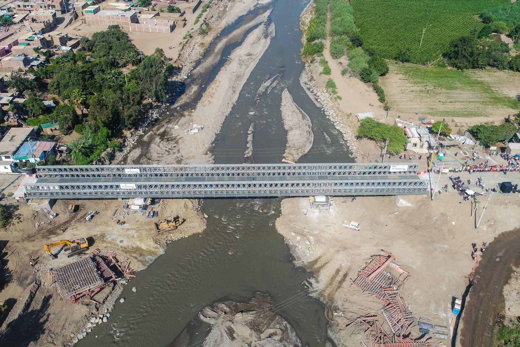 MTC instalará 20 puentes en La Libertad para mejorar la conectividad e impulsar el desarrollo económico de la región. ANDINA/Difusión