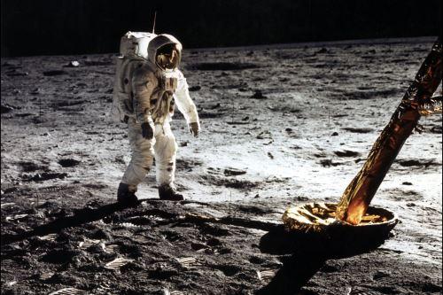 50 años de la llegada a la Luna, en imágenes