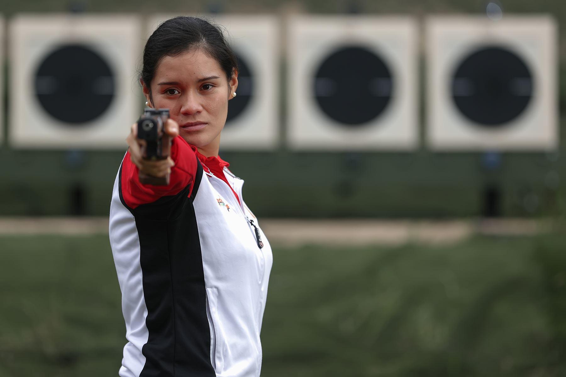 Deportistas militares clasificados a los juegos Panamericanos Lima 2019. Los deportistas compiten en pentatlón moderno, tiro, judo, esgrima, equitación, rugby 7 y paratletismo. Foto:MINDEF