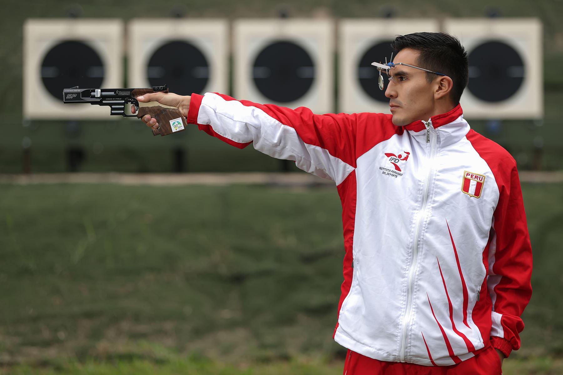 Suboficial de segunda FAP Kevin Luis Altamirano Farfán, deportista militar clasificado a los juegos Panamericanos Lima 2019. Foto:MINDEF