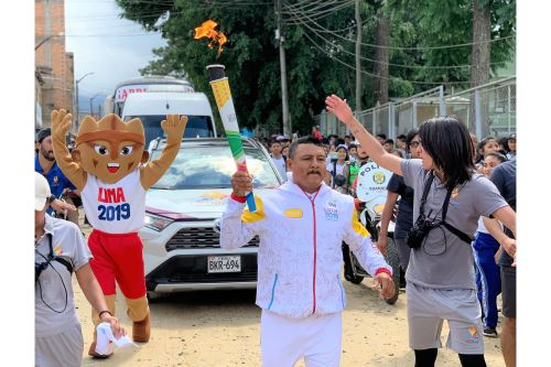 Lima 2019: La Antorcha Panamericana llegó a Tarapoto