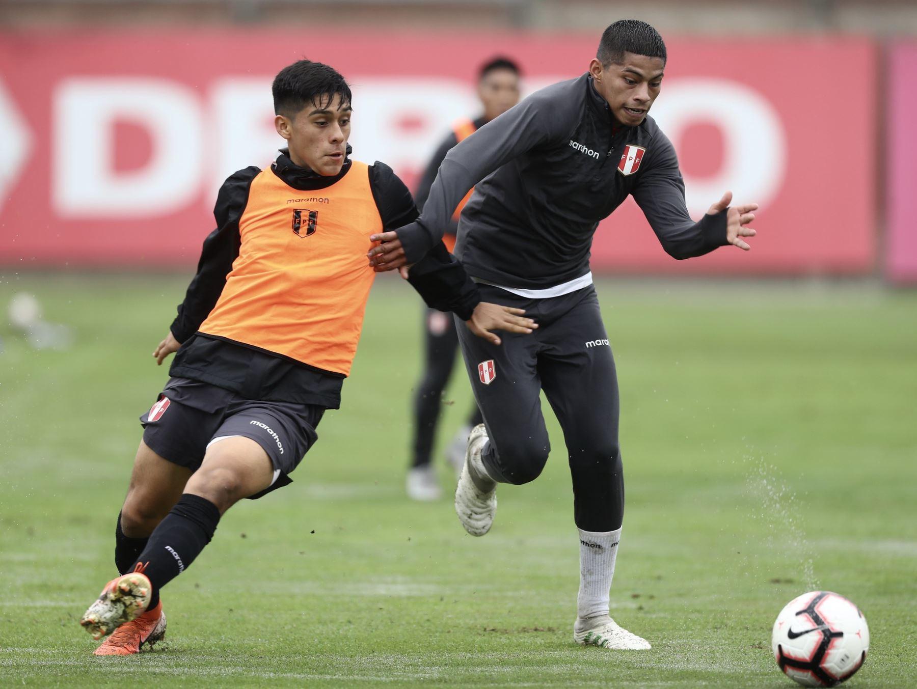 Kevin Quevedo es una de las principales carta de gol que presentará la selección peruana