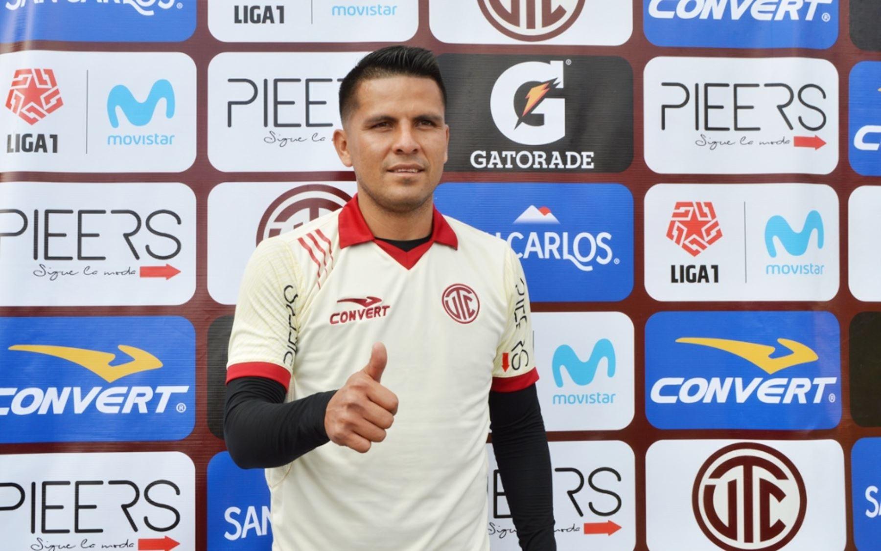 Janio Pósito es el flamante refuerzo de UTC para afrontar el Torneo Clausura. Foto: Eduard Lozano