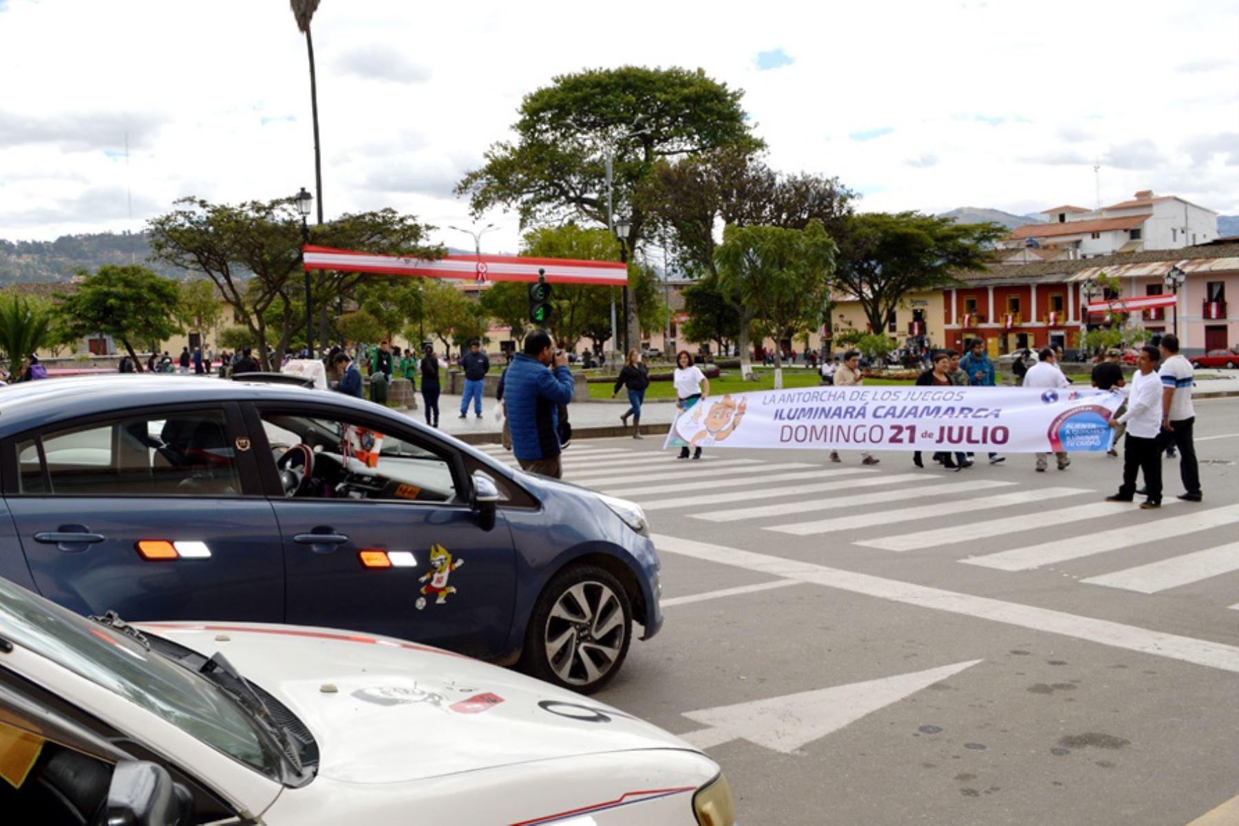 Cajamarca se dispone a recibir Antorcha Panamericana de Juegos Lima 2019. Foto: ANDINA/difusión.
