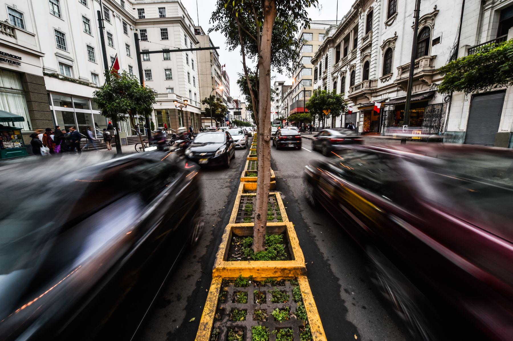 Avenida La Colmena, centro de Lima ANDINA/ José Sotomayor
