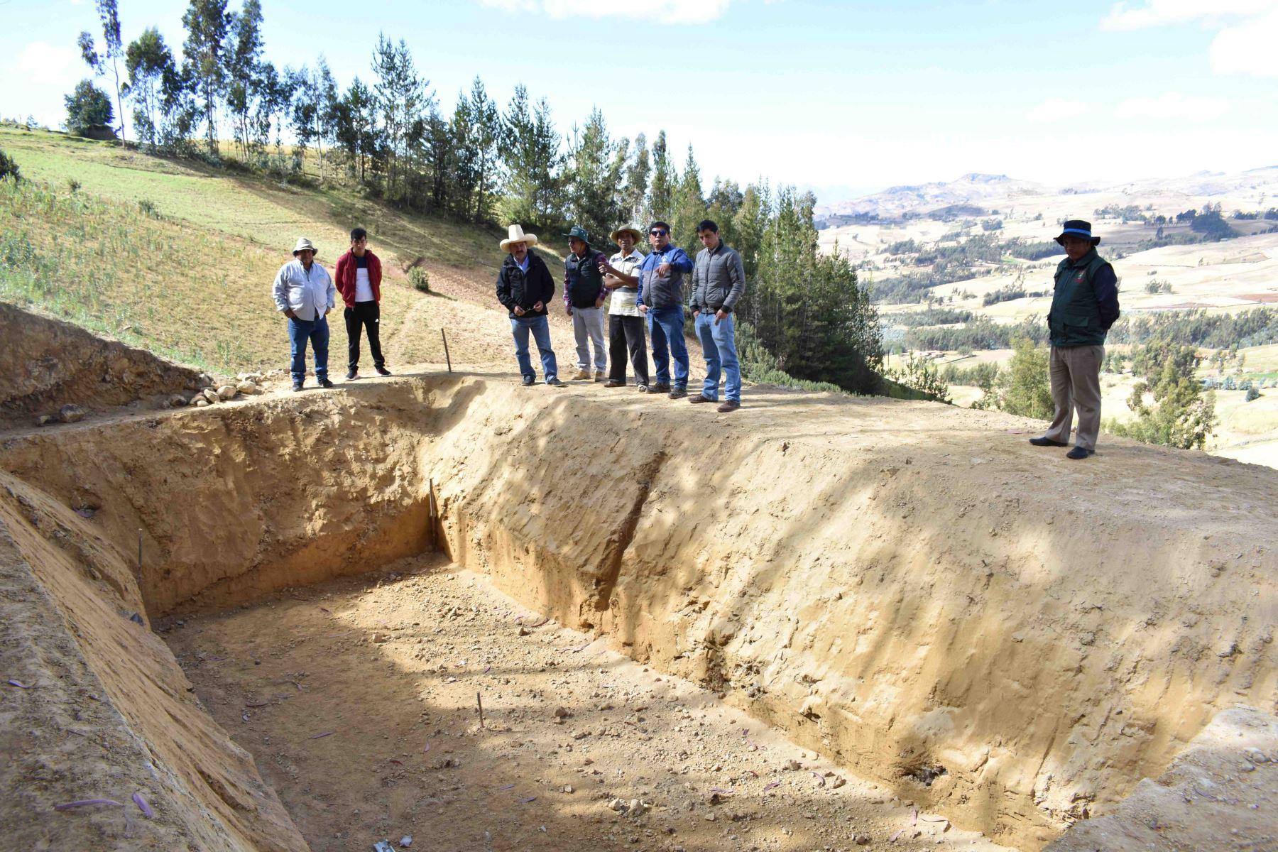 Gobierno Regional de La Libertad construirá 1,000 microrreservorios en provincia de Santiago de Chuco. ANDINA/Difusión