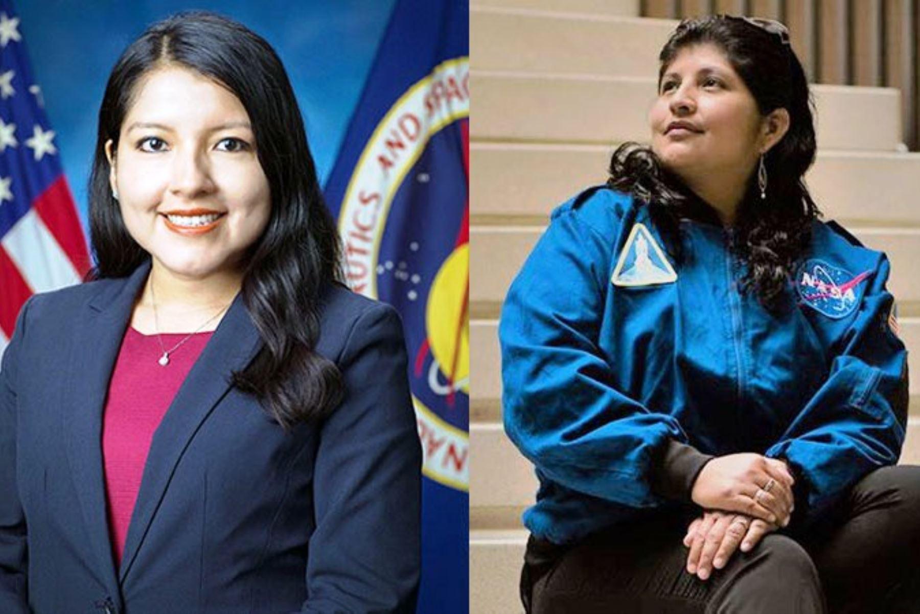 Rosa Ávalos y Aracely Quispe, las ingenieras peruanas que trabajan en la NASA. Foto: ANDINA/Difusión.