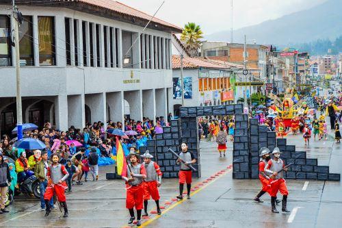 Ambiente festivo en Áncash por próximo arribo de la Antorcha Panamericana que recorrerá las ciudades de Chimbote y Huaraz. ANDINA/Difusión