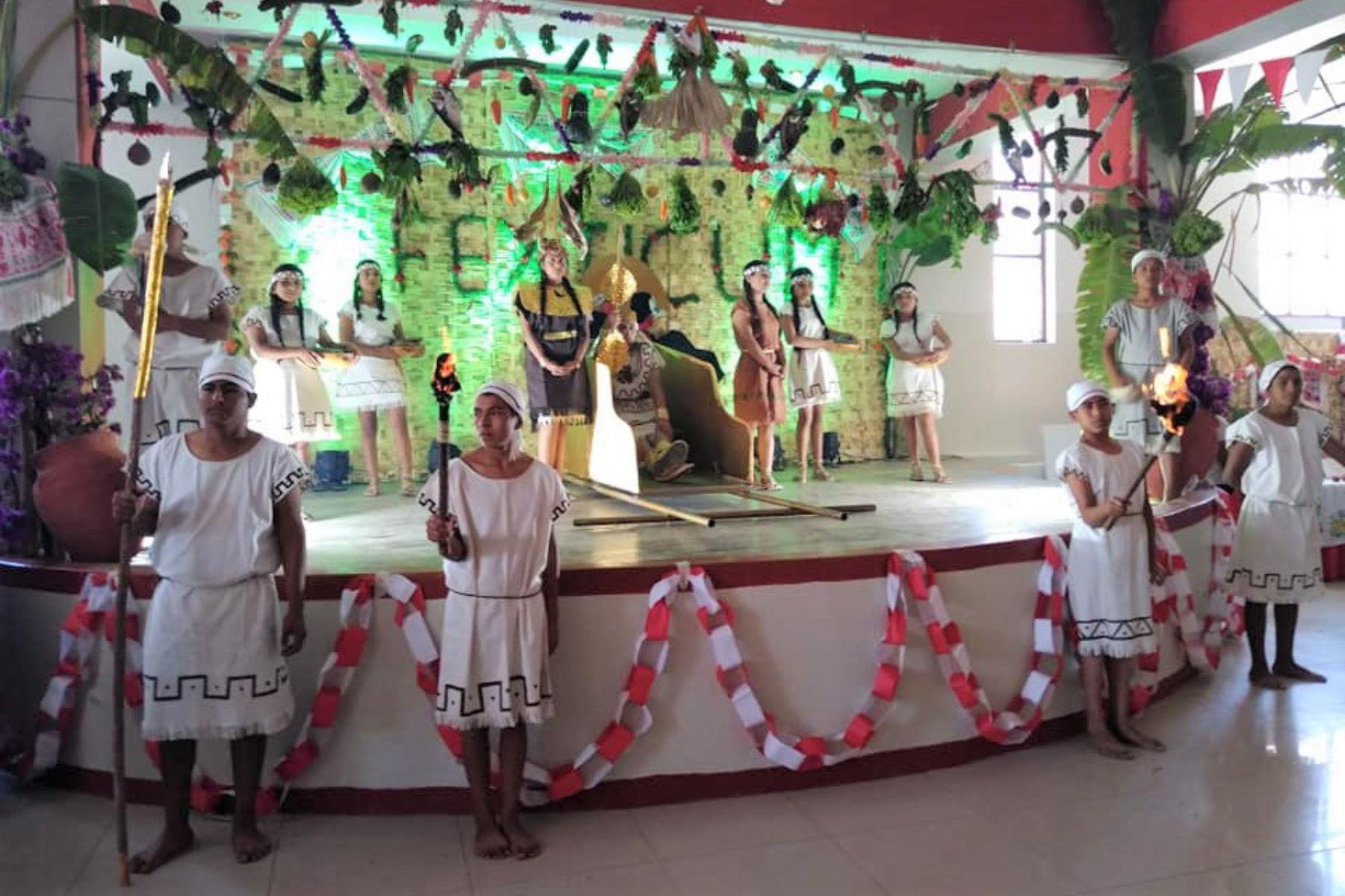 Fexticum, la tradicional feria de exposiciones de Monsefú, en Lambayeque, espera la visita de 70,000 turistas. ANDINA/Difusión