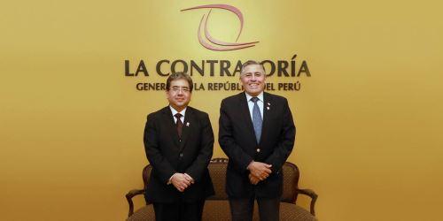 Mindef y Contraloría reforzarán coordinación para prevenir corrupción en FFAA y el sector