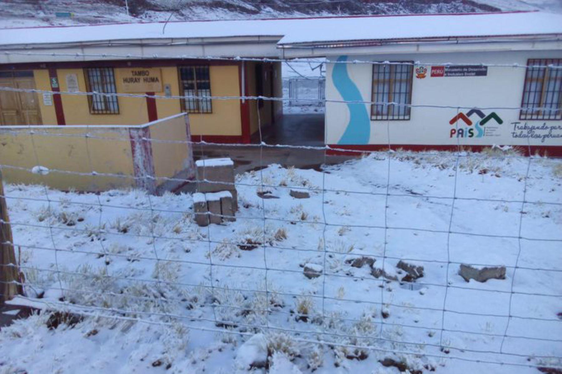 La Sierra soportará precipitaciones líquidas y sólidas desde esta tarde hasta el domingo 24, informó el Senamhi. Foto: ANDINA/Difusión