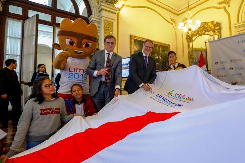 Lima 2019: alcalde de Lima presentó campaña contra la violencia hacia la Niñez. Foto: ANDINA/Difusión.