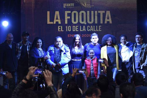 """Presentación de los actores de la película """"La Foquita, el 10 de la calle"""""""