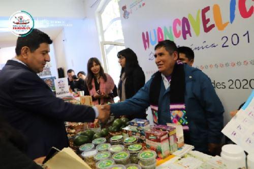 La región Huancavelica será la primera sede de la Expo Perú Los Andes, que se realizará del 18 al 21 de julio del próximo año, esperándose recibir más de 40,000 visitantes y generar negocios que superen los US$ 15 millones.ANDINA/Difusión