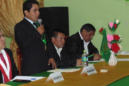 El alcalde provincial de Pallasca (Áncash), Marcial Valerio Chávez, fue hallado culpable del delito de colusión. Foto: ANDINA/Gonzalo Horna
