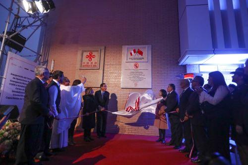 Presidente Vizcarra inaugura sede del Coen en Chorrillos